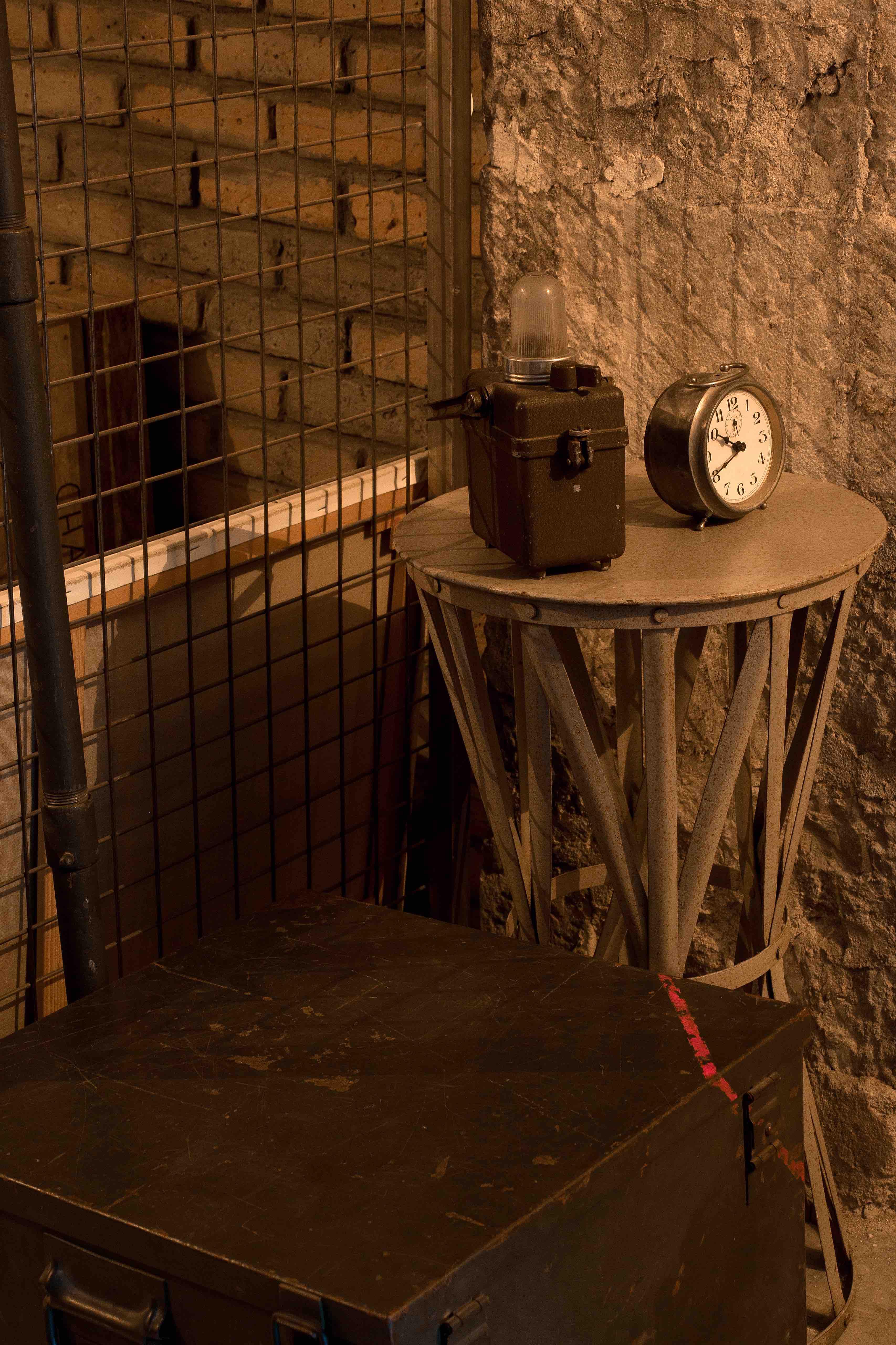 Accessoires de la salle Monuments Men - Escape game Le défi des ducs à Dijon