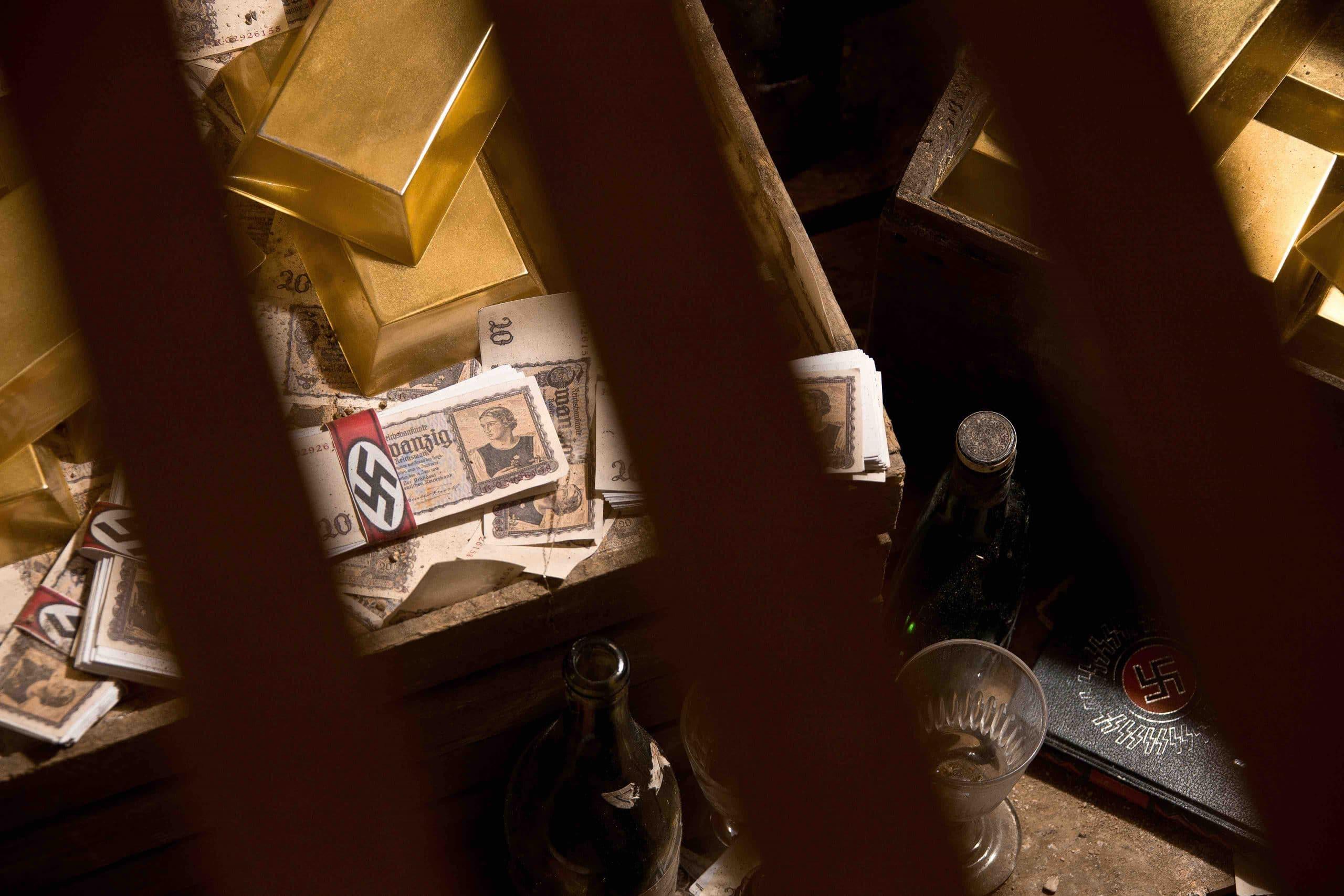 Lingots et Billets de la salle Monuments Men - Escape game Le défi des ducs à Dijon