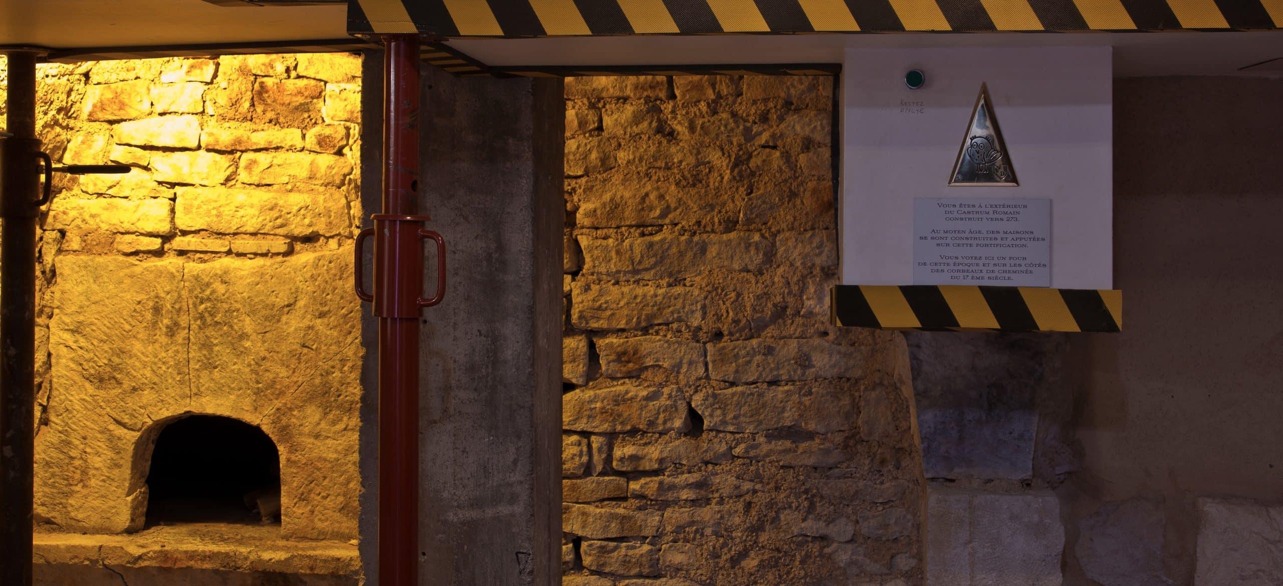 Four médieval de la salle le mystère du Castrum - Escape game Le défi des ducs à Dijon